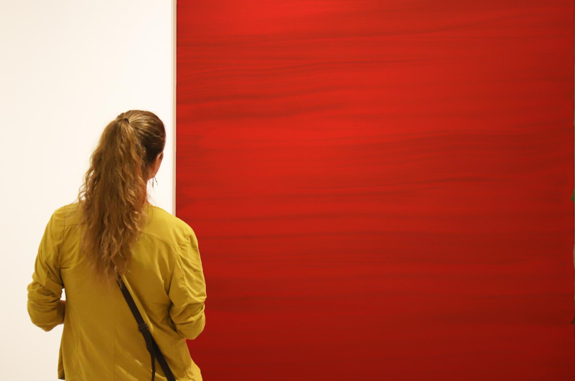 Detalle de Tendo 2017. Acrílico sobre lino. 190 x 150 cm. Nico Munuera.